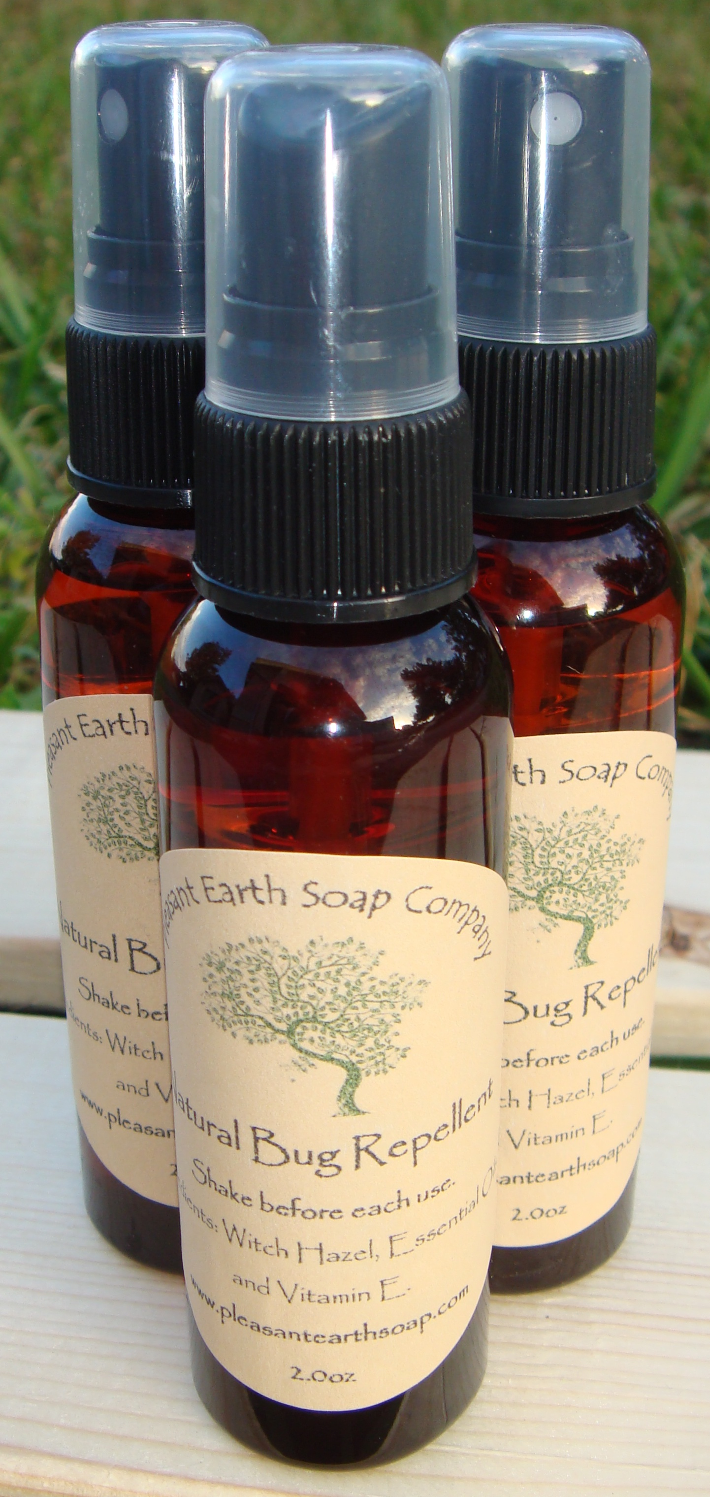 Bug Repellent Pleasant Earth Soap Company